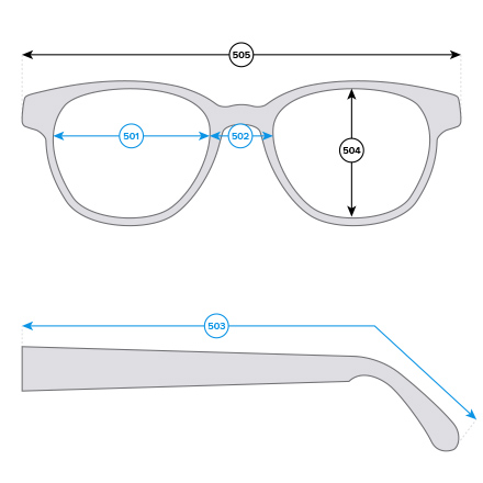 How to measure glasses
