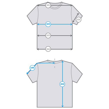 How to measure t-shirt
