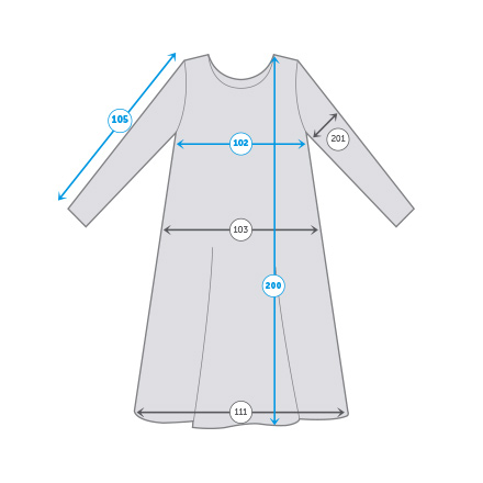 How to measure tunic